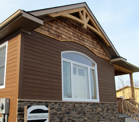 Pine board and batten bevel siding cove siding clap for Prefinished siding